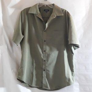 Croft & Barrow Men's Shirt Olive Green L